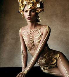 Gilded corpse