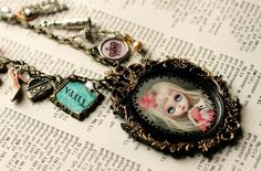 Darling Diva - Blythe cameo by by Mab Graves