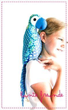 "parrot pattern sewing ""enrico"""