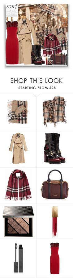 """Scarf"" by marionmeyer ❤ liked on Polyvore featuring Burberry and scarf"