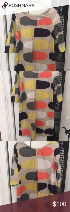 Marimekko dress Marimekko size 42 or Large dress. Worn maybe once Marimekko Dresses