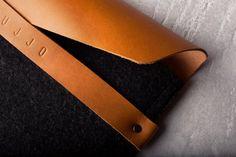 Envelope Sleeve od #Mujjo #Stylowy #pokrowiec na #iPad'a ze skórzaną klapą - #elegancja w najlepszym wydaniu!