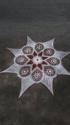 Easy Rangoli Designs Videos, Rangoli Designs Latest, Simple Rangoli Designs Images, Rangoli Designs Diwali, Beautiful Rangoli Designs, Rangoli Borders, Rangoli Border Designs, Rangoli Designs With Dots, Rangoli With Dots