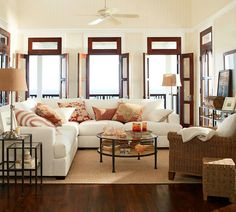 Love this Living Room!! Pottery Barn