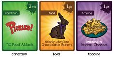 What the Food?! game by Peter Vaughan — Kickstarter