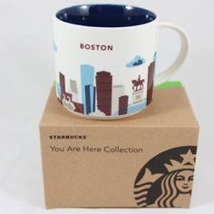 Starbucks Boston You Are Here Collection Mug