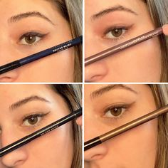 Stare-worthy definition. These eyeliner pencils feature smooth, stay-put pigments that glide on gently and seamlessly, thanks to rosemary leaf extract, a natural antioxidant, and sunflower oil, which gives the color its creamy, emollient feel. They also include a smudge tip, so you can easily perfect any line or smoke out the color. Clean Makeup, Sunflower Oil, Pencil Eyeliner, Bronzer, Smudging, Lip Colors, Smooth, Eyes, Natural
