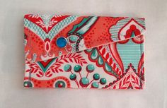 Modern Gift Card Wallet by aModernMomm on Etsy, $4.00