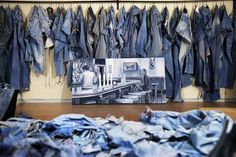 Huddersfield artist Ian Berry aka Denimu creating a stir - Huddersfield Examiner Love Jeans, Jeans Style, Ian Berry, Silver Flat Shoes, Latest Jeans, Denim Art, Cigarette Jeans, Top Artists, Tapered Jeans