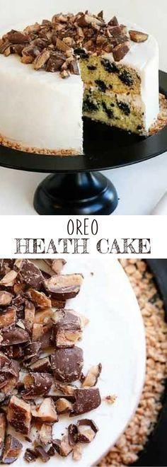 Delicious Cake Recipes, Best Dessert Recipes, Cupcake Recipes, Yummy Cakes, Baking Recipes, Cupcake Cakes, Yummy Food, Cupcakes, Heath Cake