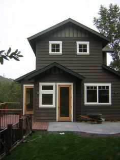 dark house exterior colors - Google Search