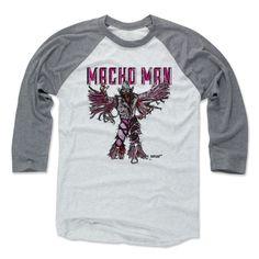 Macho Man Randy Savage Sketch P Pro Wrestling Officially Licensed Baseball T-Shirt Unisex S-3XL