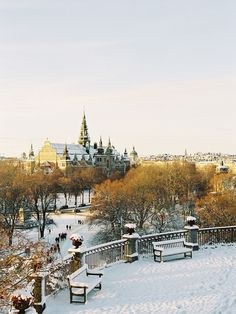 I'm really not one for winter, but this is fucking beautiful. via Vanessa Jackman: Weekend Life....Winter in Stockholm