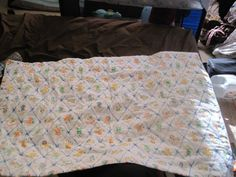 """Baby Tie Quilt """"The Green Mommy"""""""