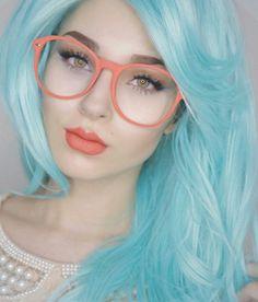 Blue hair @anastasiabeverlyhills
