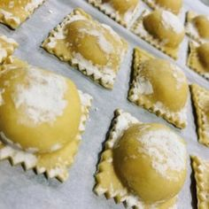 Homemade Four Cheese Ravioli - Cheese Recipes Four Cheese Ravioli Recipe, Cheese Ravioli Filling, Spinach Ravioli, Cheese Recipes, Cooking Recipes, Ravioli Lasagna, Ravioli Dough Recipe, Pasta Recipes, Baked Ravioli