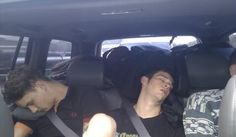 Passed the hell out and looking Damn good doing it