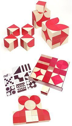 Naef Ornabo Wooden Toy Puzzle Geometric Shapes - great shapes to play with for quilt designs.....
