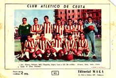EQUIPOS DE FÚTBOL: ATLÉTICO DE CEUTA en la temporada 1960-61