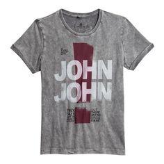 T-SHIRT CONTIGO KIDS JOHN JOHN DENIM | SHOP ONLINE | Compre a nova coleção pelo site oficial.