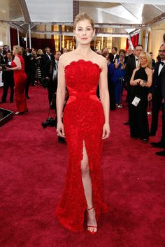 Rosamund Pike in Givenchy: