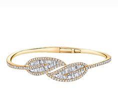 Anita Ko Leaf Bracelet
