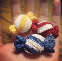 Amigurumi candy #crochet