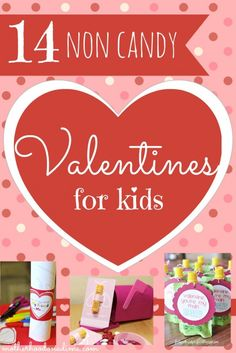 14 Non Candy Valentines for Kids! - The Purposeful Mom Valentines Day Activities, Fun Activities For Kids, Holiday Activities, Valentines For Kids, Preschool Activities, Fun Crafts, Crafts For Kids, Fun Ideas, Party Ideas