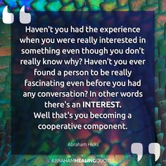 You becoming a cooperative component