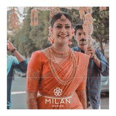 bridal-kanchipuram-silk-sarees-14 Kerala Hindu Bride, Bridal Sarees South Indian, Bridal Silk Saree, Indian Bridal Outfits, Indian Bridal Fashion, Saree Wedding, Silk Sarees, Indian Sarees, Drape Sarees