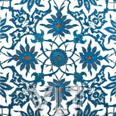 The newer styles of Turkish tiles were originally created during the Ottoman Empire (15th and 16th Century) near the town Iznik. Description from backsplashtilesandmore.com. I searched for this on bing.com/images