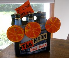 To the Moon and Back - Blue Moon Beer Gift