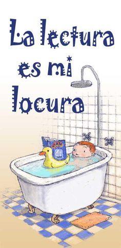 La lectura es mi locura Girlfriend Application, I Love Books, Books To Read, Bilingual Education, Spanish Classroom, I Love Reading, Girl Reading, Readers Workshop, Spanish Lessons