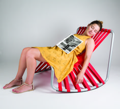 'tanking a nap' nap chair by irene chércoles mercader & andrea mauri carbonell