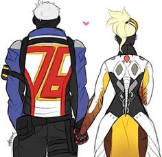 Solider 76 and Mercy