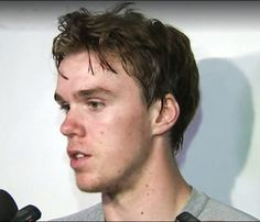 EDMONTON -- Connor McDavid put on a show for roughly 7,300 fans Monday at Rexall Place during a 4-on-4 intrasquad scrimmage for Edmonton Oilers prospects.  The No. 1 pick at the 2015 NHL Draft had three goals in two 20-minute halves of 4-on-4 play, then scored two more in seven minutes at 3-on-3, leading his team to an 8-6 win.