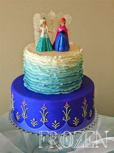 Frozen Anna Birthday Cake Princess anna frozen Pinteres