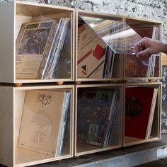 Storage Cube #vinylrecordstorage #recordstorage