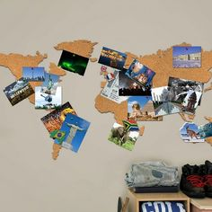 Gift for travellers, Best gift for travellers, Cork Pin Board