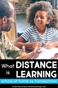 What is Distance Learning - School at Home vs. Teaching Second Grade, First Grade Teachers, Third Grade, Fourth Grade, What Is Homeschooling, Benefits Of Homeschooling, Classroom Teacher, School Closures, Learning Objectives