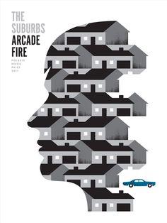 The Suburbs - Arcade Fire poster