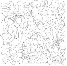 Shop | Category: Flowers / leaves | Product: Oak leaves and acorns E2E