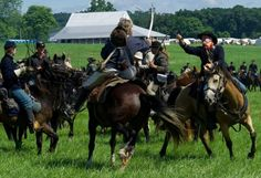 See the Battle of Gettysburg Reenactment on July 4th.
