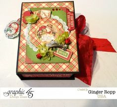 Graphic 45 Twas the Night Before Christmas Mini Album in a Box