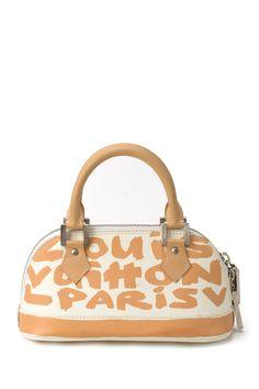 5f516e0b3 HauteLook | Vintage Handbags: Vintage Louis Vuitton Leather Graffiti Mini  Alma Handbag