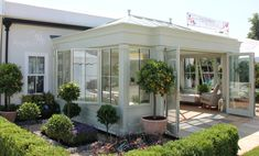 Anglian's timber orangery which will be on display at Grand Designs Live at the NEC, Birmingham.