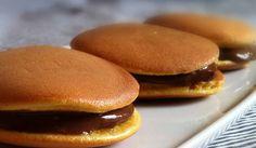 Resep Dorayaki Coklat dan Selai Kacang Merah