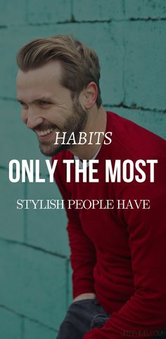 """Take Control Of Your Habits To Take Control Of Your Life"""" When I first started delving into the world of style, I was like OMG! How can all of these people always look this damn amazing. Like my mind was blown.… #mensfashiontips #menstyletips"""