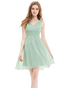 Ever Pretty Sleeveless Ruched Waist V-neck Short Party Dress 03909, http://www.amazon.co.uk/dp/B00YQT1JH4/ref=cm_sw_r_pi_awdl_xECoxbZNXSRVR