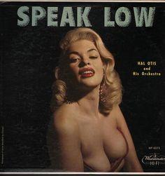 Jayne Mansfield Pictured on Hal Otis Speak Low LP